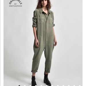 One Teaspoon Pants & Jumpsuits - SOLD OUT One Teaspoon NWT Calvary Utility Jumpsuit